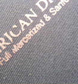 daftar harga jas almamater, Bahan Jas Almamater, Tekstur Kain American Drill